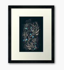 Aquabot Framed Print