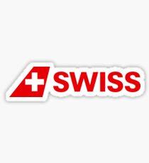 Swiss Airways logo Sticker