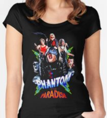 PHANTOM OF THE PARADISE Women's Fitted Scoop T-Shirt