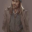 Jesus, The Walking Dead by mimmunet