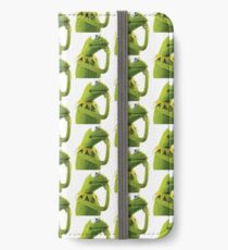 Kermit Contemplating, an aesthetic iPhone Wallet/Case/Skin