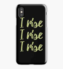I rise iPhone Case