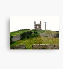 Derelict house in Donegal, Ireland Metal Print