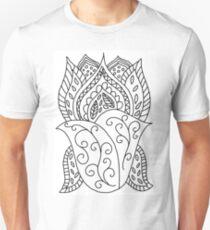 LotusFlower DIY Coloring Doodle Gifts T-Shirt