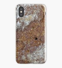 Macro photo of the surface of brown bread iPhone Case/Skin