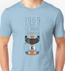 1969 Race Winner Unisex T-Shirt