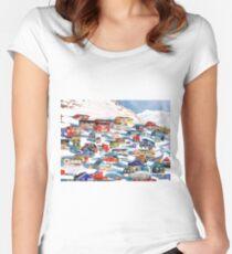 Qaqortoq Women's Fitted Scoop T-Shirt