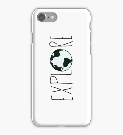 Explore the Globe iPhone Case/Skin
