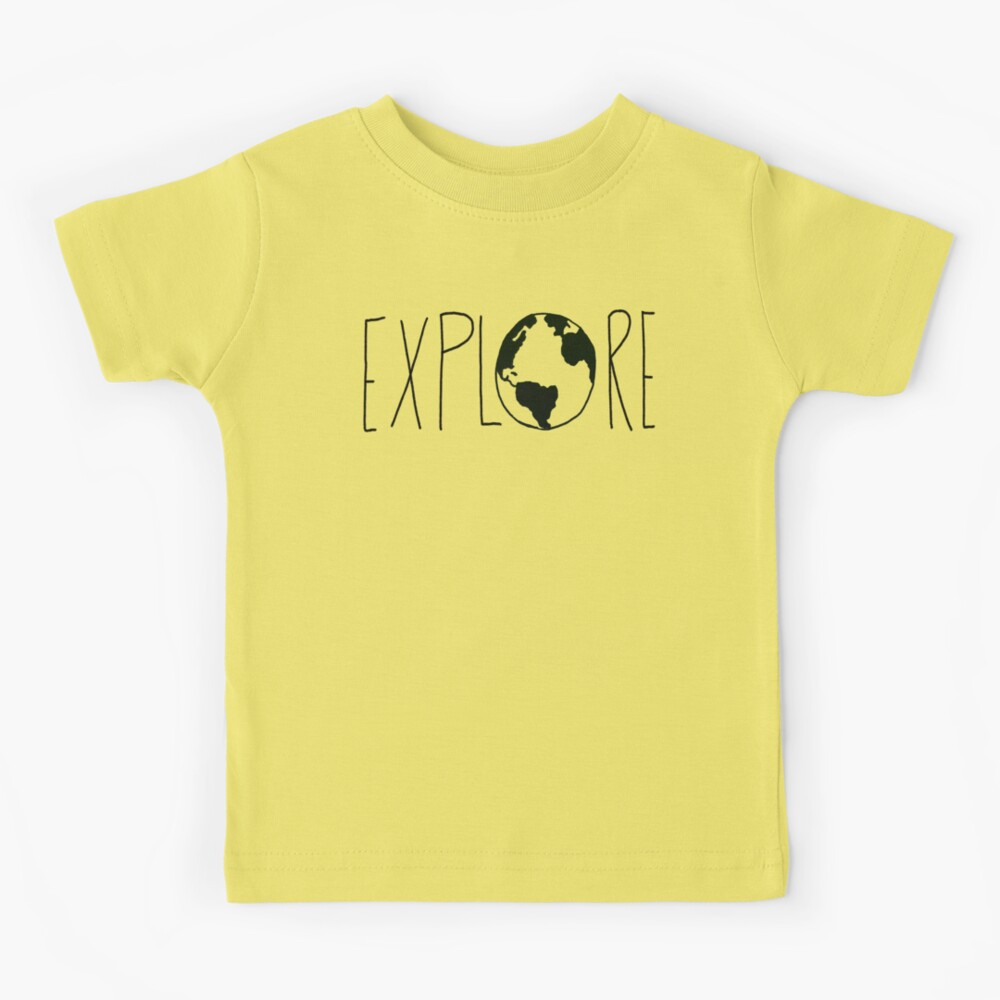 Explore the Globe Kids T-Shirt
