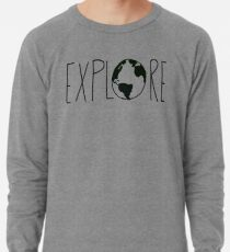 Explore the Globe Lightweight Sweatshirt