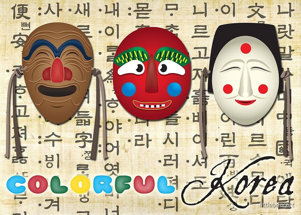 Colorful Korea by littlebearart