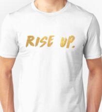 rise up hamilton  Unisex T-Shirt