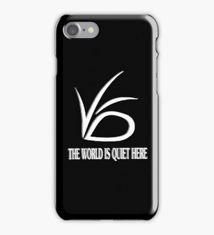 The World is Quite Here iPhone Case/Skin