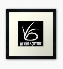 The World is Quite Here Framed Print
