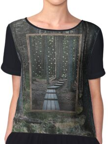 Mirror Of The Soul Top mousseline femme