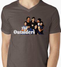 Die Außenseiter T-Shirt mit V-Ausschnitt