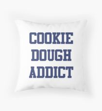 Cookie Dough Addict Throw Pillow