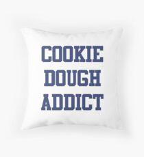 Cookie Dough Addict Throw Pillow
