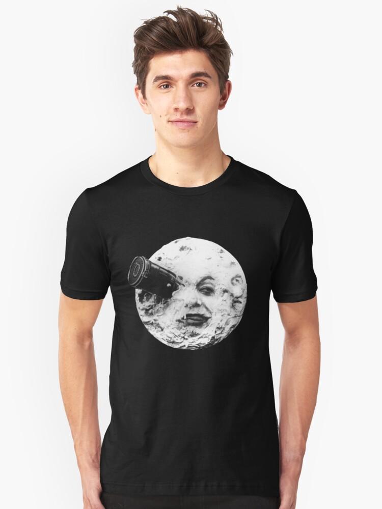 moon Unisex T-Shirt Front