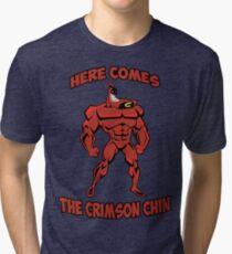 The Crimson Chin Tri-blend T-Shirt