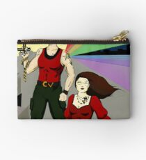 Clevenger and the Henchman Zipper Pouch