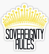 Sovereignty Rules Sticker