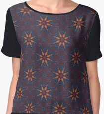 Different Spins Chiffon Top