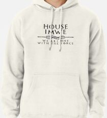House Imwe - black Pullover Hoodie
