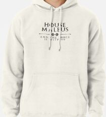 House Malbus - black Pullover Hoodie