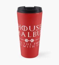 House Malbus - white Travel Mug