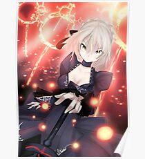 Fate/ Stay Night Saber Alter Dress! Poster