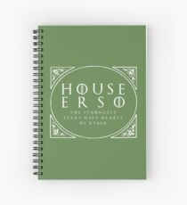 House Erso - white Spiral Notebook