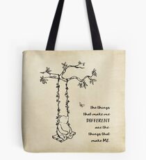 Winnie the Pooh - The things that make me different Tote Bag