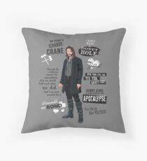 Ichabod Crane Throw Pillow