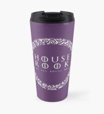 House Rook - white Travel Mug
