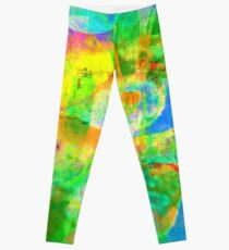 No Spanking The Monkey©WEAR Trademark Shimmers Leggings