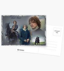 Jamie Fraser collage Postcards
