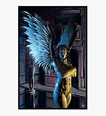 Robot Angel Painting 027 Photographic Print