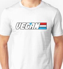 Vegan Soldier Unisex T-Shirt