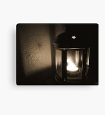 Tealight Lantern Canvas Print