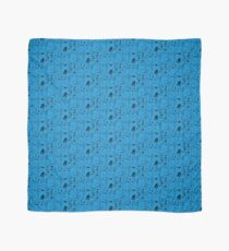 A Band of Blue Birds Scarf