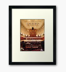 Schwartz Center for Performing Arts - Emory University  Framed Print