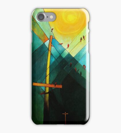 Earth Bound Power #7 (The Son is Risen) iPhone Case/Skin