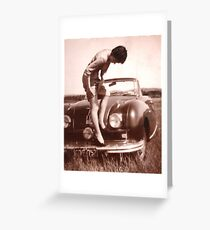 Memories of the Fifties [Austin A 90 ]1948 model ? Greeting Card
