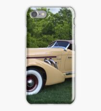 1935 Auburn 851 Boattail Speedster iPhone Case/Skin