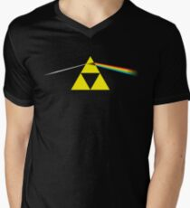 The Dark Side of the Triforce Men's V-Neck T-Shirt