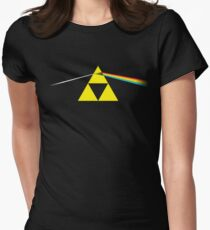 The Dark Side of the Triforce Women's Fitted T-Shirt