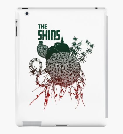 the shins iPad Case/Skin