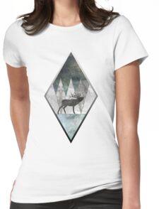 Bull Elk Womens Fitted T-Shirt