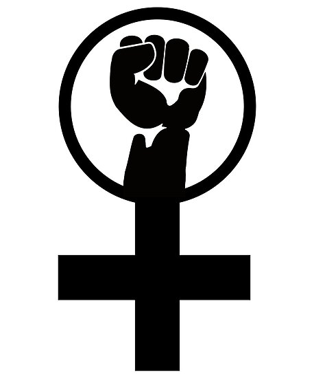 Feminist Women S Power Symbol Posters By Lgbt Redbubble